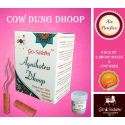 Agnihotra / Cow Dung Dhoop Sticks  ( Pack of 10 )
