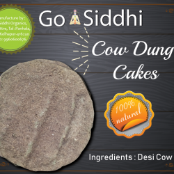 Cow Dung Cakes ( Pack 400 )